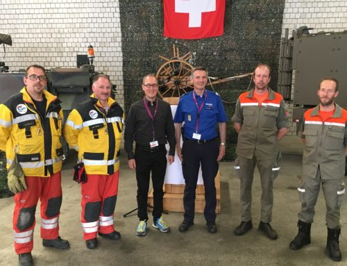 Übung Waldbrand Calanda 2. Juni 2018